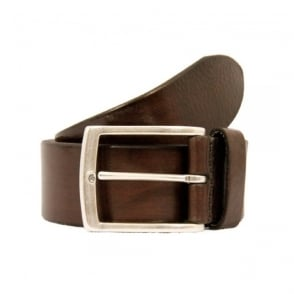 Anderson Belts Plain Brown Leather Belt AF3018