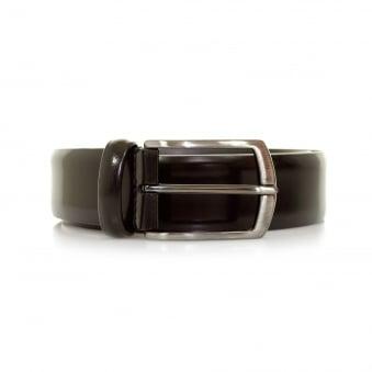 Anderson Shine Burgundy Leather Belt A1981 AF3237 PL262 D1
