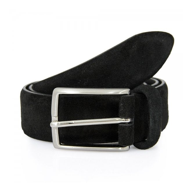 Anderson's Belts Anderson Suede Black Belt A1404
