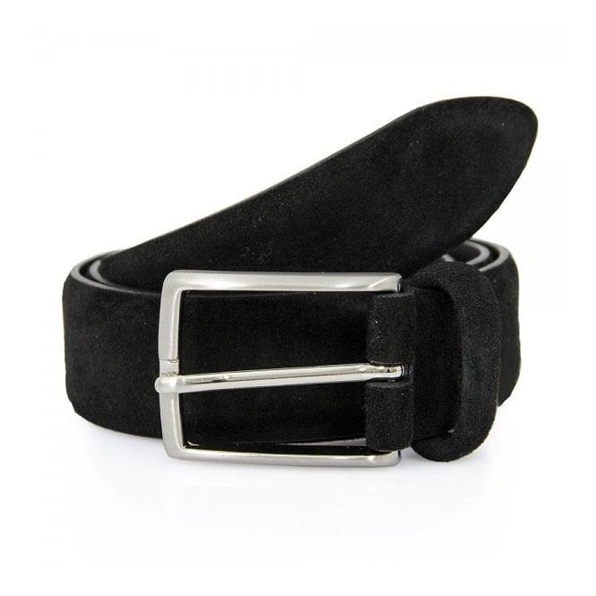Anderson's Belts Anderson Suede Black Belt A1404