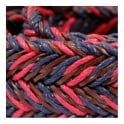 Anderson's Belts Anderson's Braided Twine Deep Navy Red Belt AF2949002