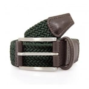 Anderson's Woven Green Belt B0067 AF2949 NE37 V1