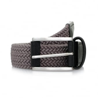 Anderson's Woven Grey Belt B0667 NE37 G2