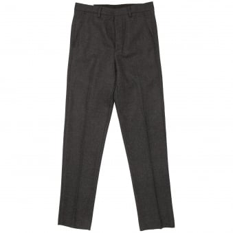 Anthracite Carrot Fit Tailored Trousers