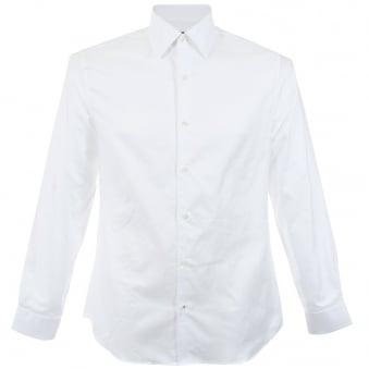 Aquascutum Oxford White Shirt H570026