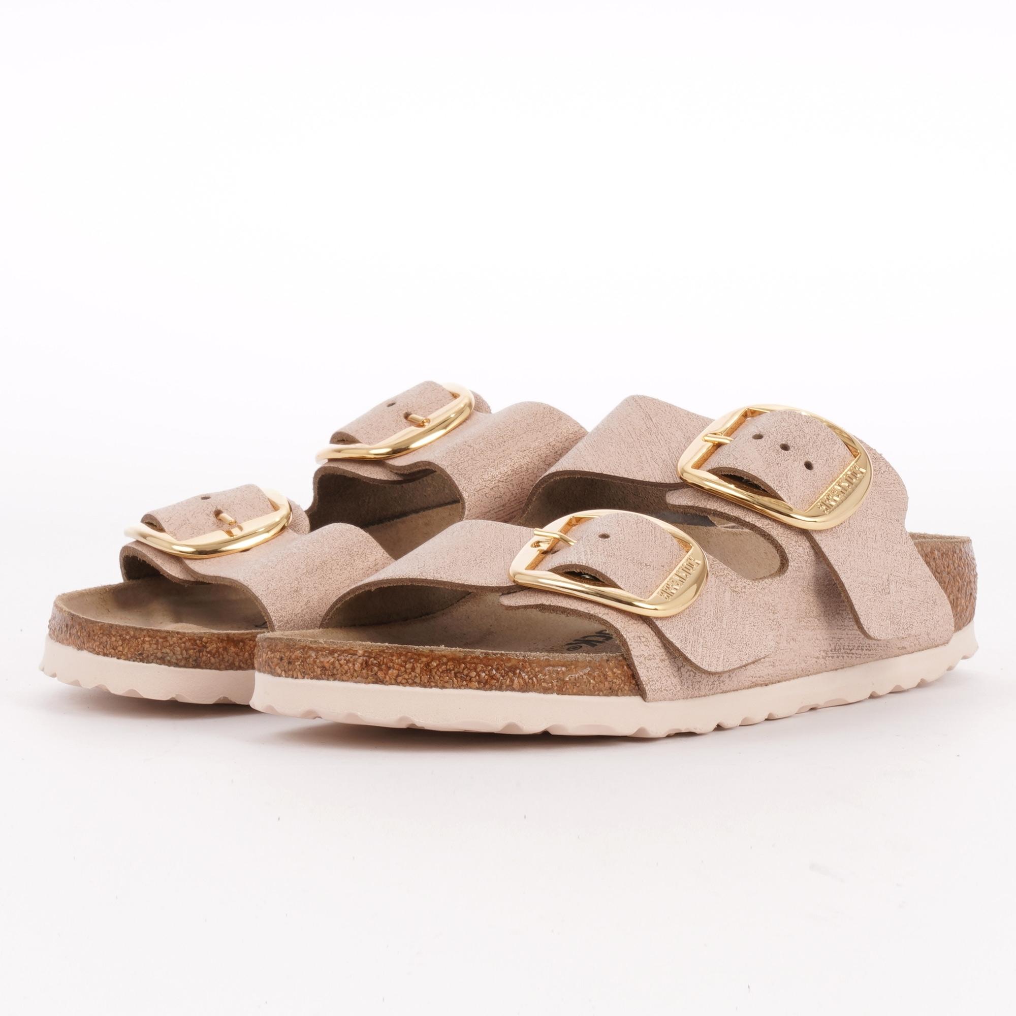 6a3da431a685 Arizona Big Buckle Sandals - Washed Metallic Rose Gold