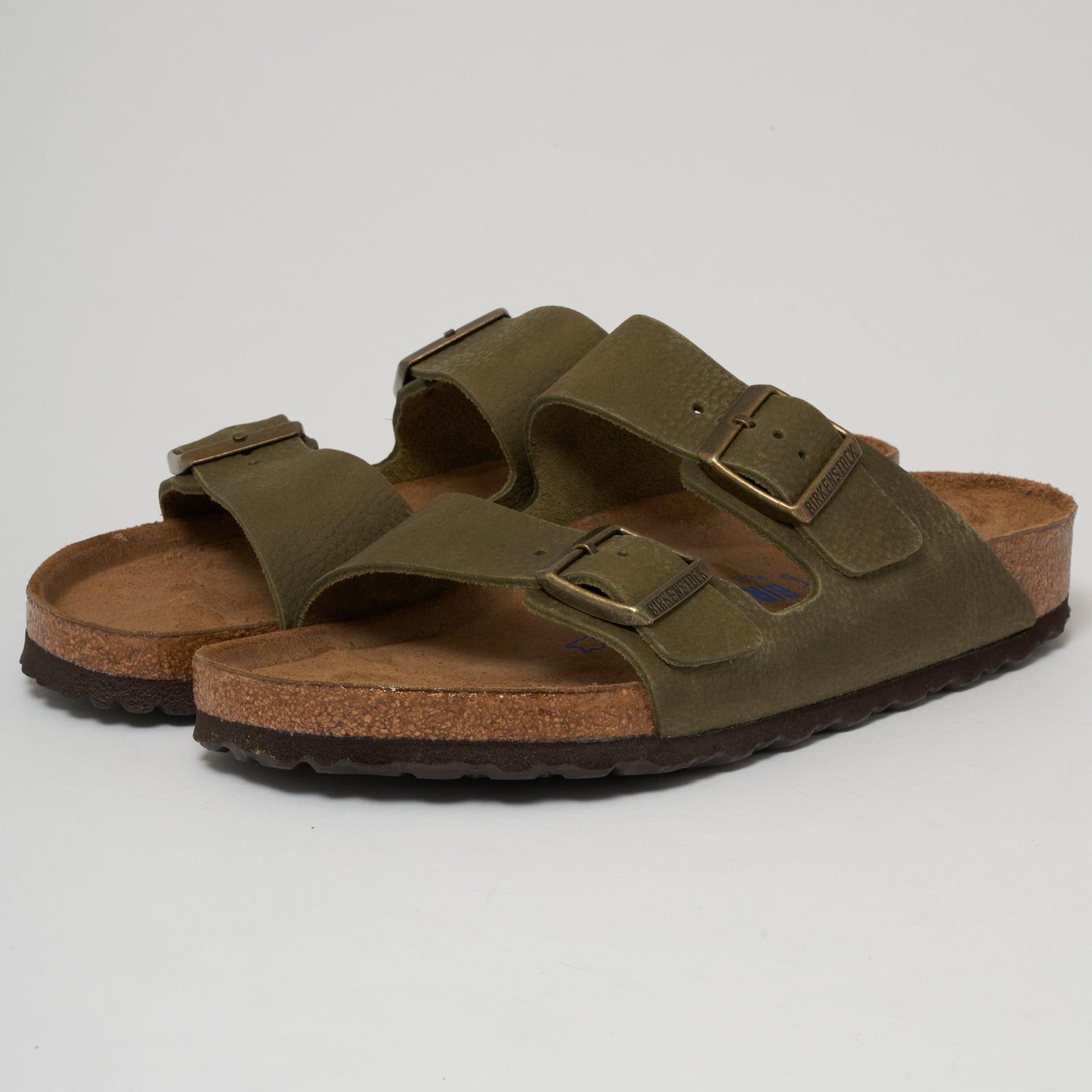 a6c2153f8282 Birkenstock Arizona Sandals Steer Khaki | US Online Shop
