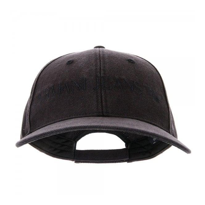 230f4a42769 Armani Jeans Twill Nero Baseball Cap 06481