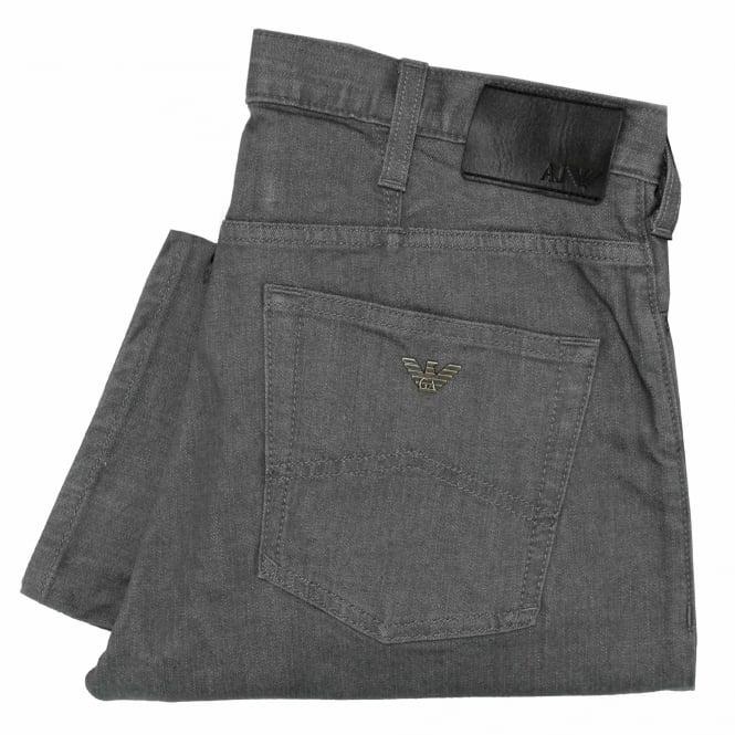 Armani Jeans J21 Grey Denim Jeans 8N6J21