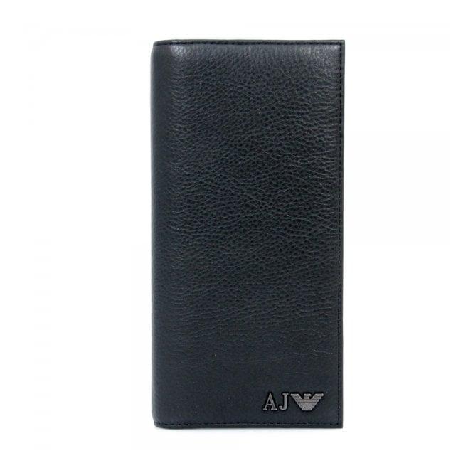 Armani Accessories Armani Jeans Yen Black Leather Wallet 06V75