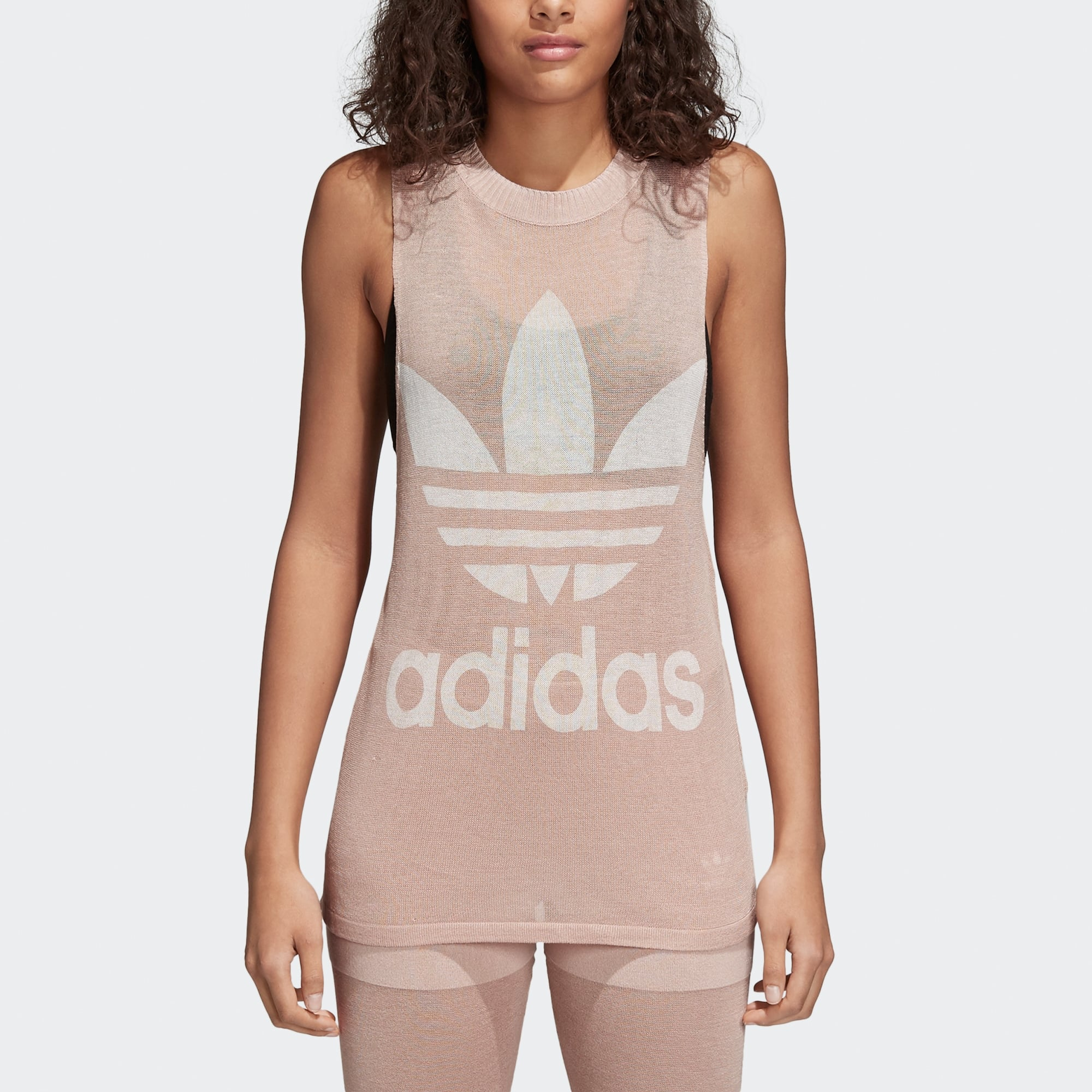 7ab108852def3d Adidas Originals Womens Trefoil Tank Top