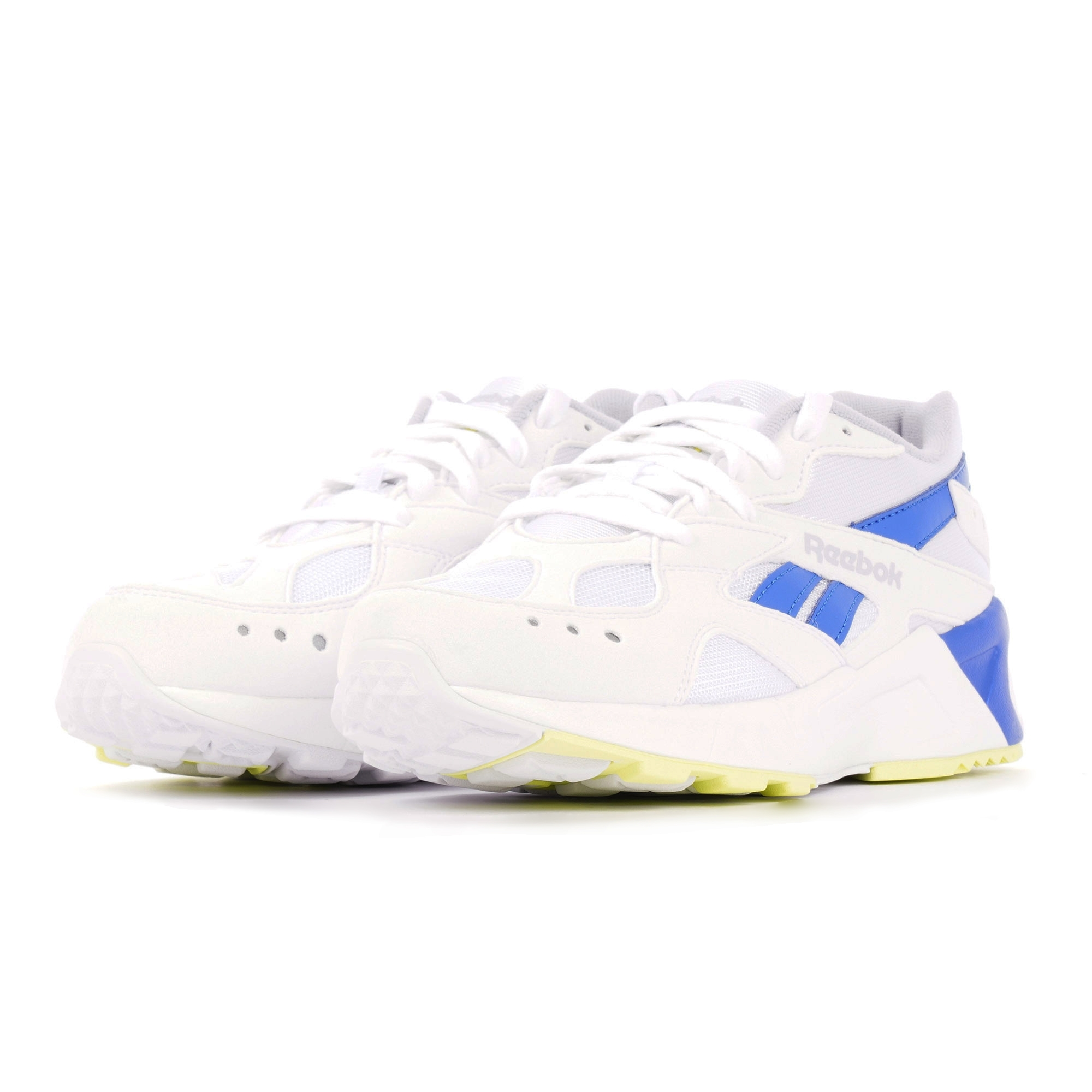 Reebok Aztrek   White \u0026 Cobalt   US