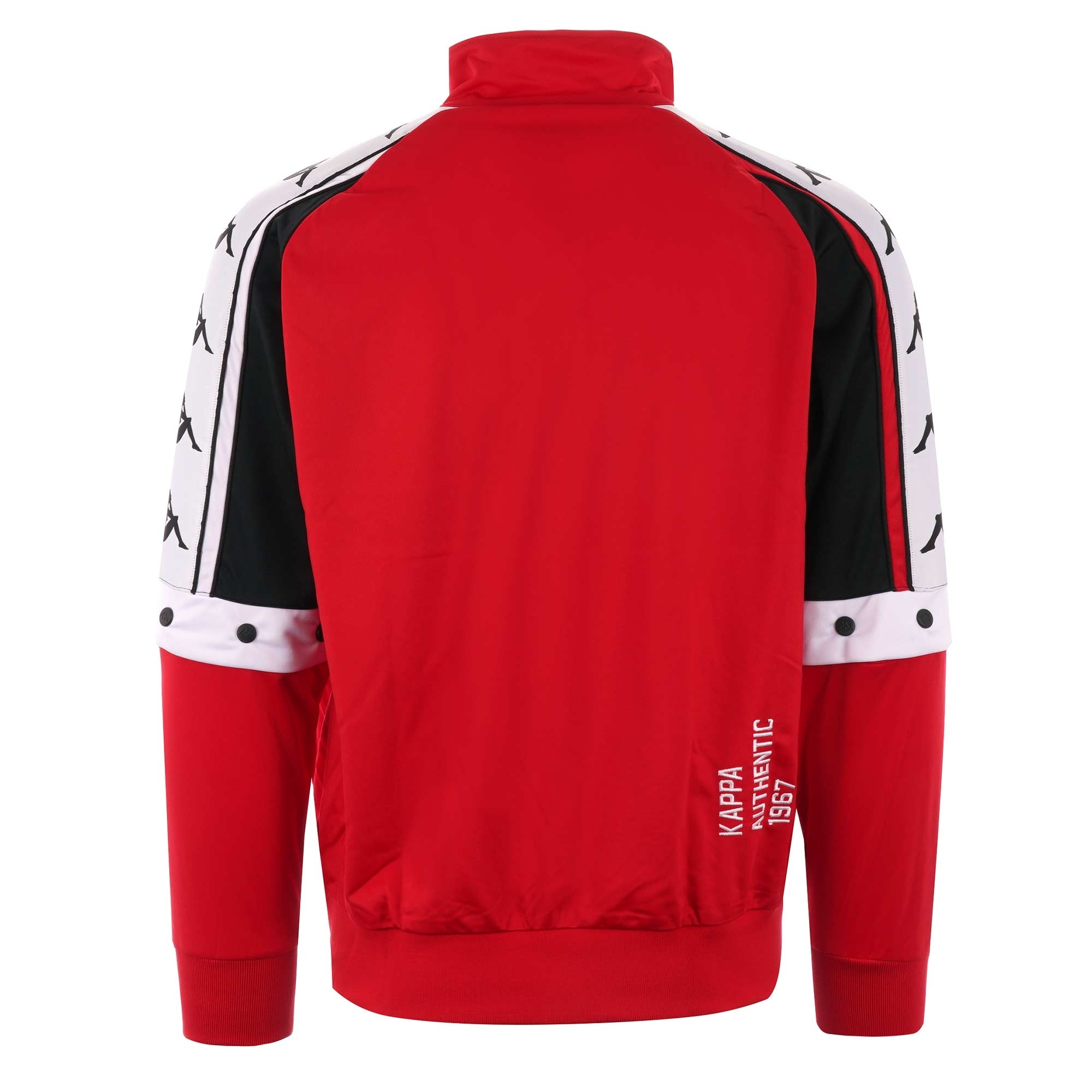2f21d03410 Kappa Bafer Authentic Jacket | Red, Black & White | US Stockists