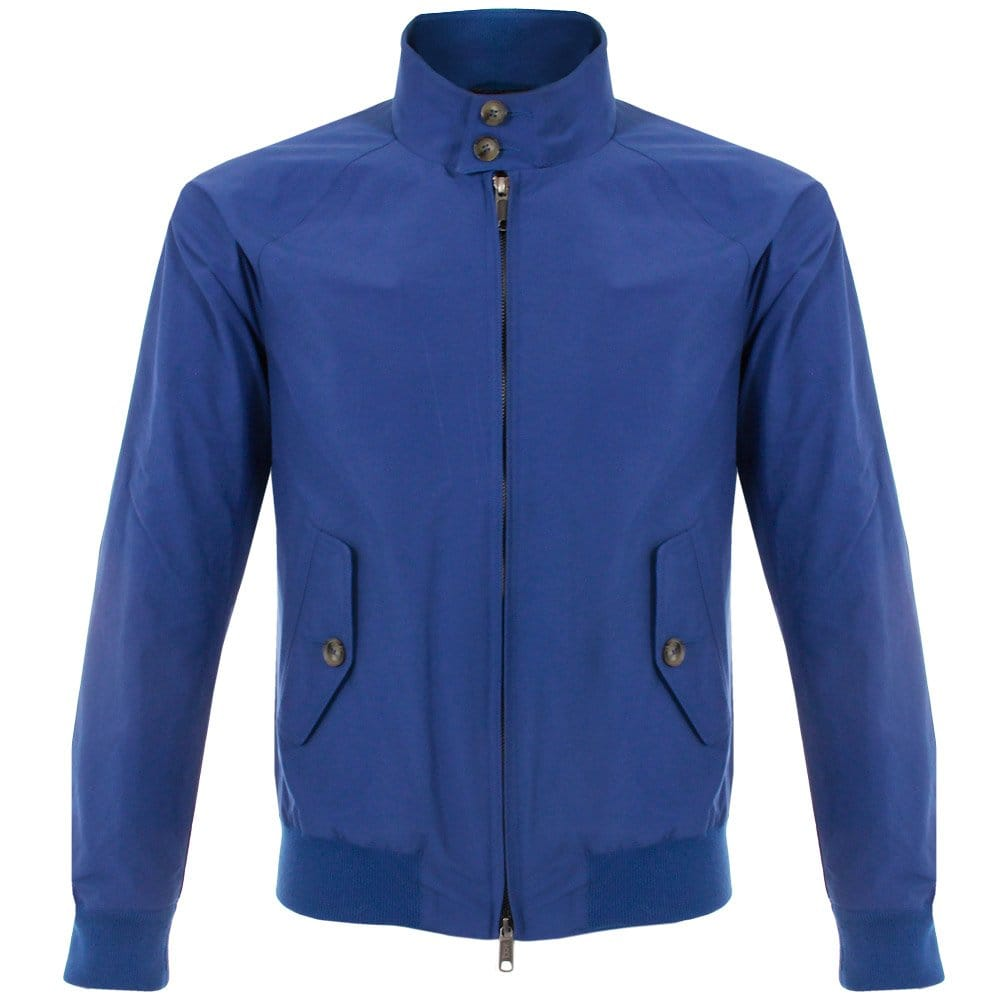 A Blue Jacket - Coat Nj