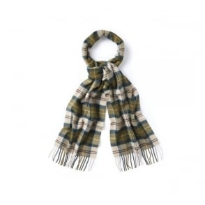 Barbour Ancient Tartan Green Scarf USC0001TN51
