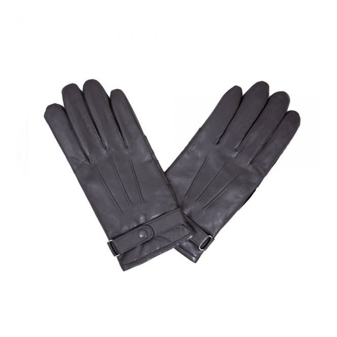 Barbour Accessories Barbour Burnished Brown Leather Thinsulate Glove MGL0009BR71