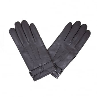 Barbour Burnished Brown Leather Thinsulate Glove MGL0009BR71