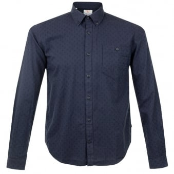 Barbour Diamond Dark Pany Print Shirt MSH3559NY94
