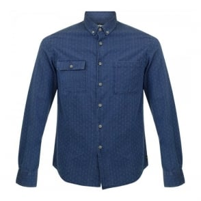 Barbour International Willis Indigo Shirt MSH3539IN32
