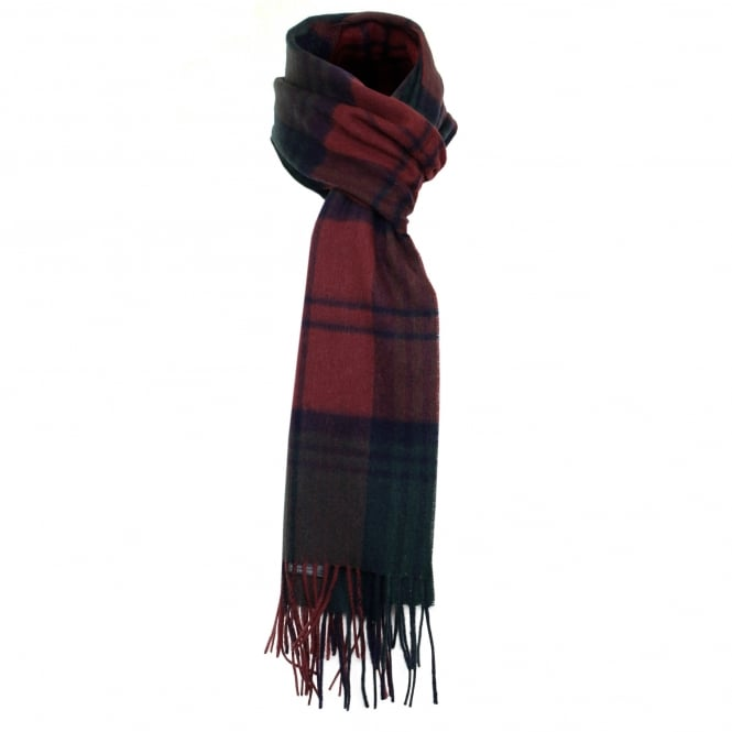 Barbour Accessories Barbour New Check Red Tartan Scarf USC0137RE751