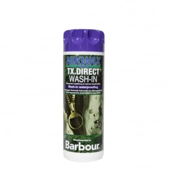 Barbour Nikwax Wash-in Waterproofing