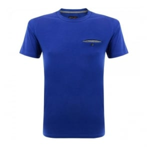 Barbour Standards Pocket Blue T-Shirt MML0530BL33