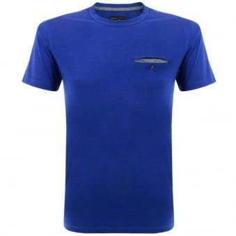 Barbour Standards Pocket Blue T-Shirt MML0530BL33