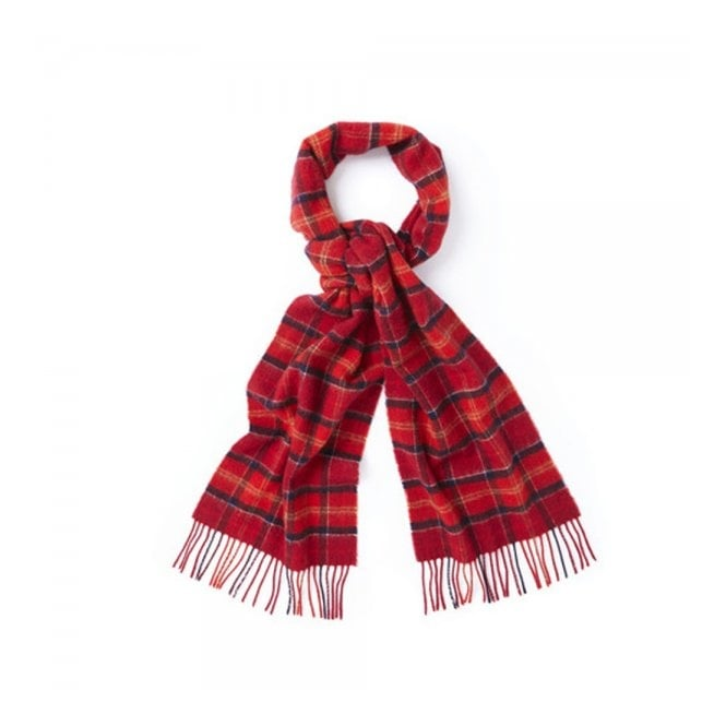 Barbour Accessories Barbour Tartan Cardinal Lambswool Scarf USC0001TN12