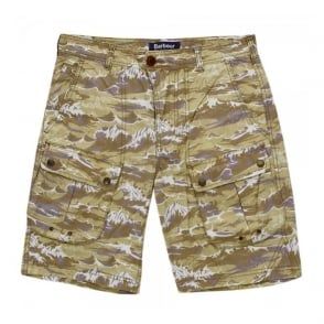 Barbour X White Mountaineering Wave Stone Shorts MTR0477ST51