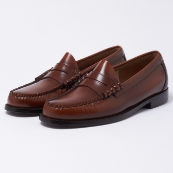 Bass Weejuns Larson Cognac Loafer Shoe