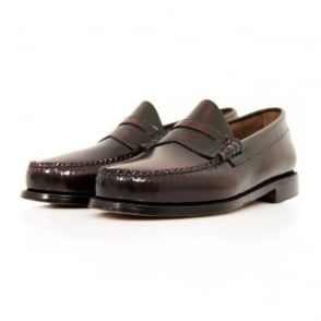 Bass X William Fox & Sons Larson 2 Burgundy Shoes 66847