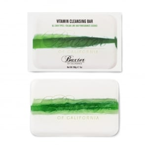 Baxter of California Vitamin Cleansing Bar - Italian lime Pomegranate
