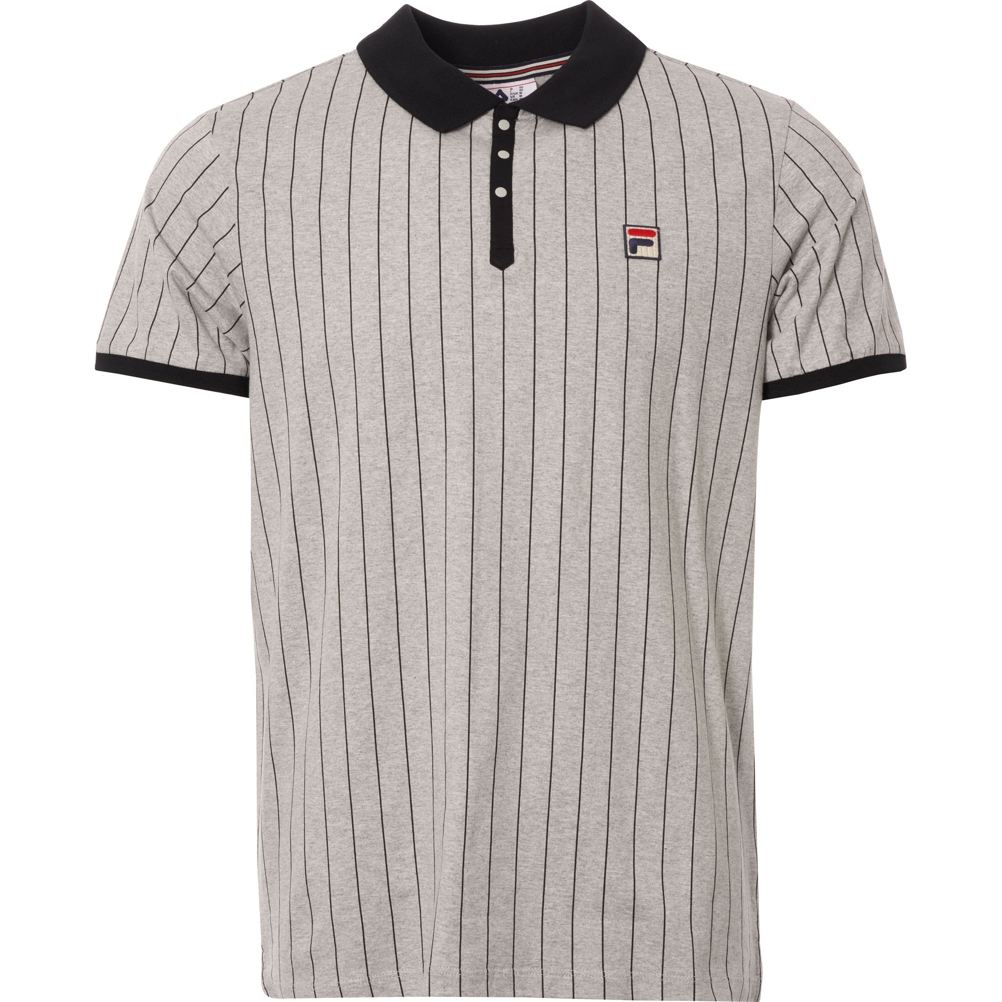 BB1 Polo Shirt - Grey & Black