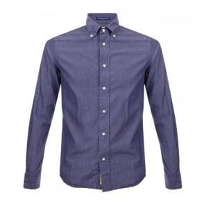 BD Baggies Dexter Dot Navy Shirt B25031