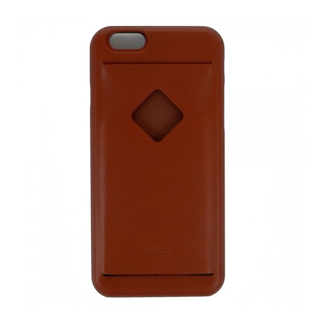 Bellroy Wallets Bellroy iPhone 6 Case 3 Card Tamarillo