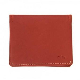 Bellroy Slim Sleeve Tamarillo Wallet