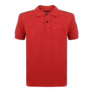Belstaff Borman Racing Red Polo Shirt 71140115