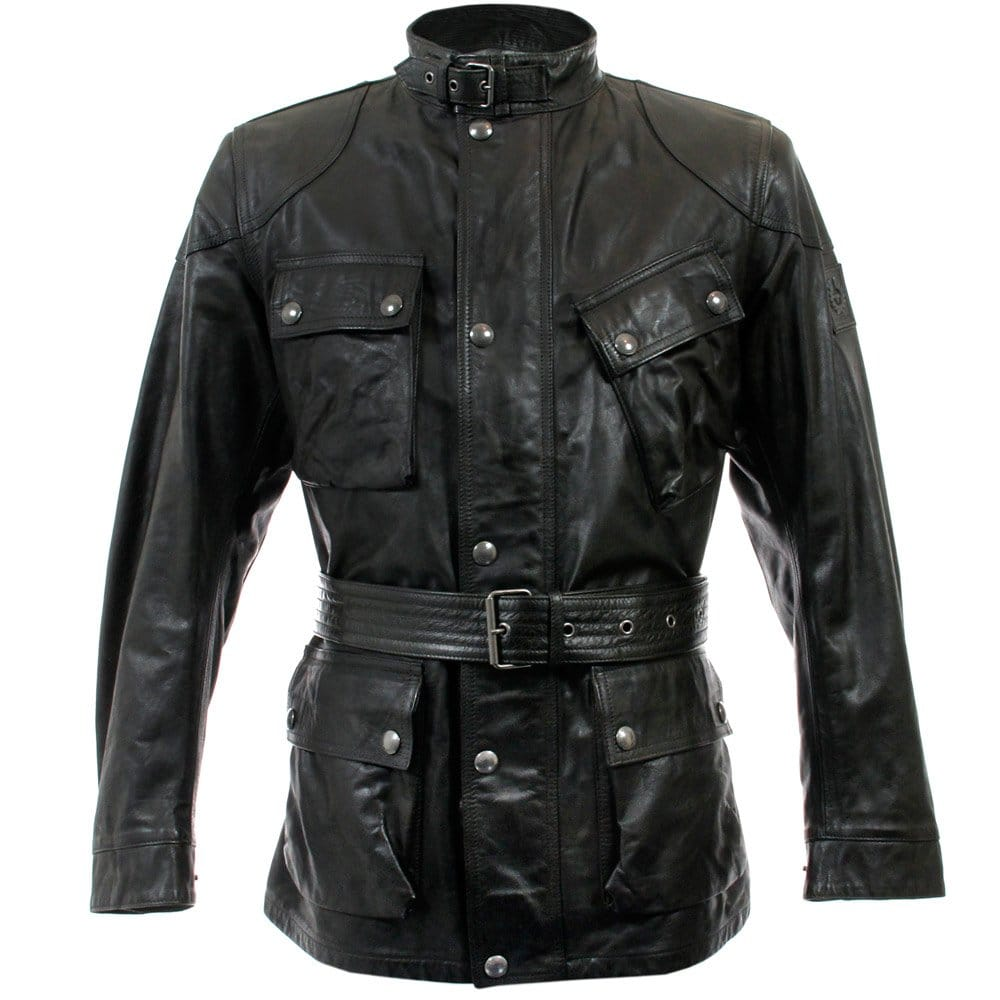 Belstaff leather motorcycle jackets
