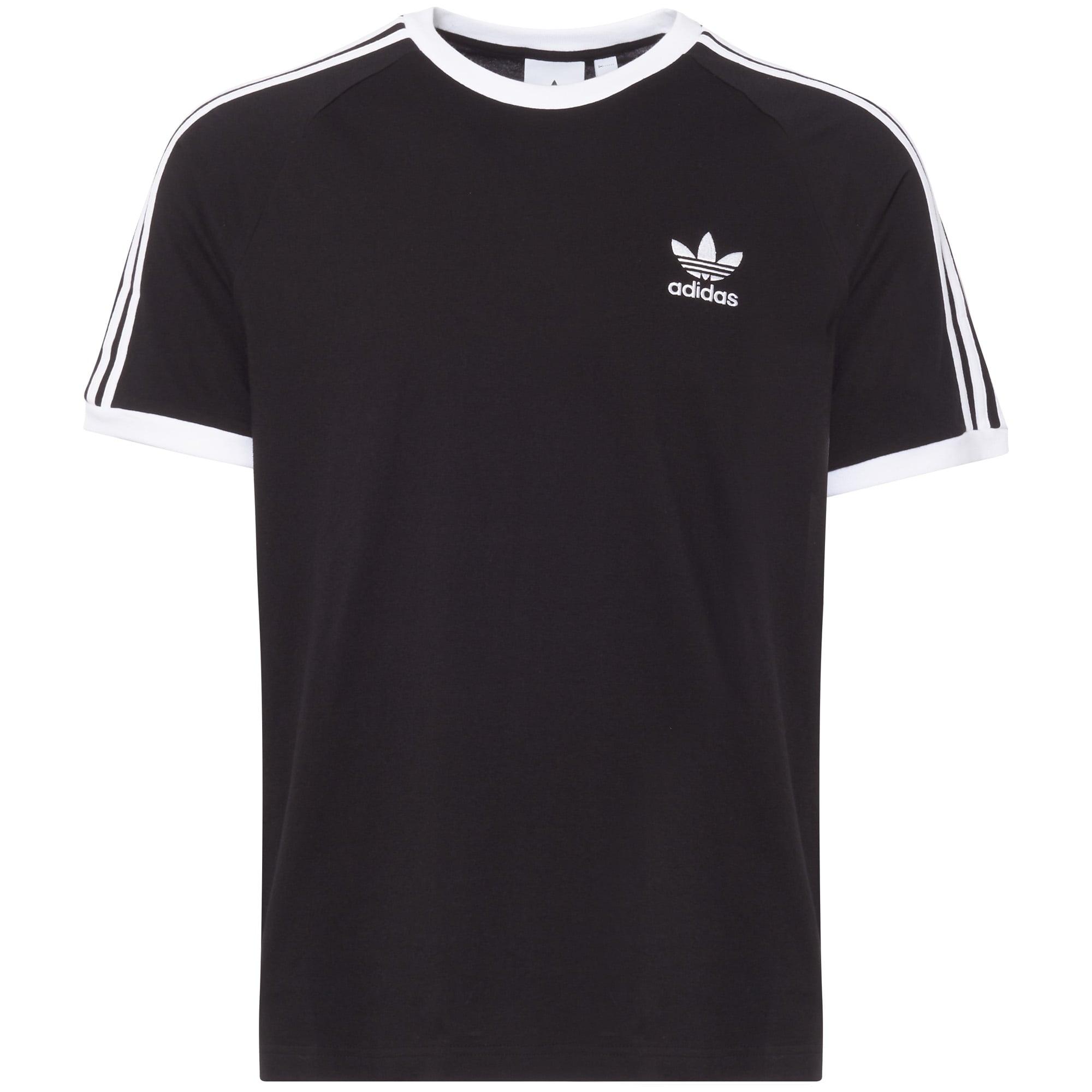 Black 3-Stripes Tee