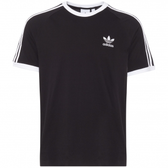 Black 3-Stripes Tee