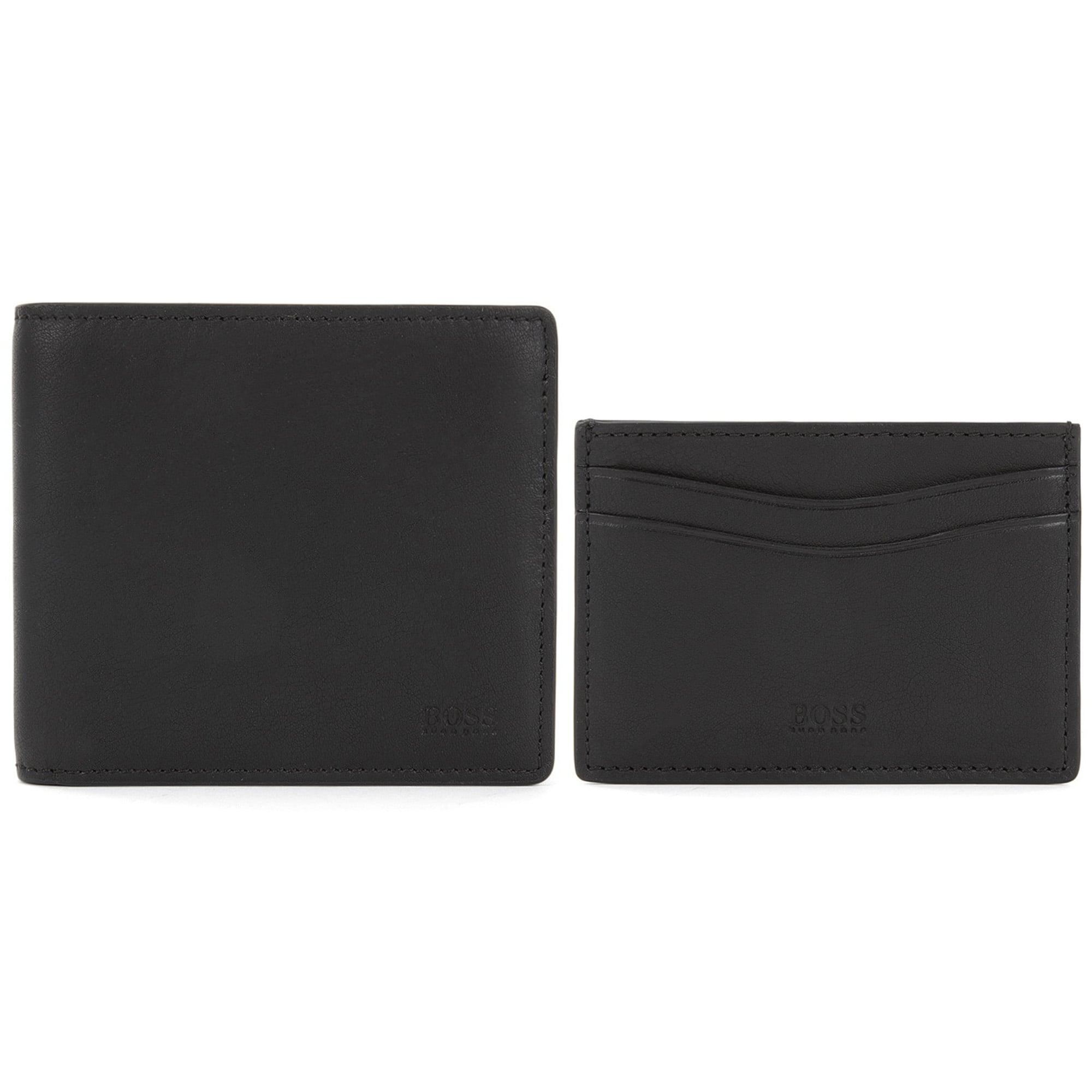 black bifold wallet cardholder gift set - Bifold Card Holder