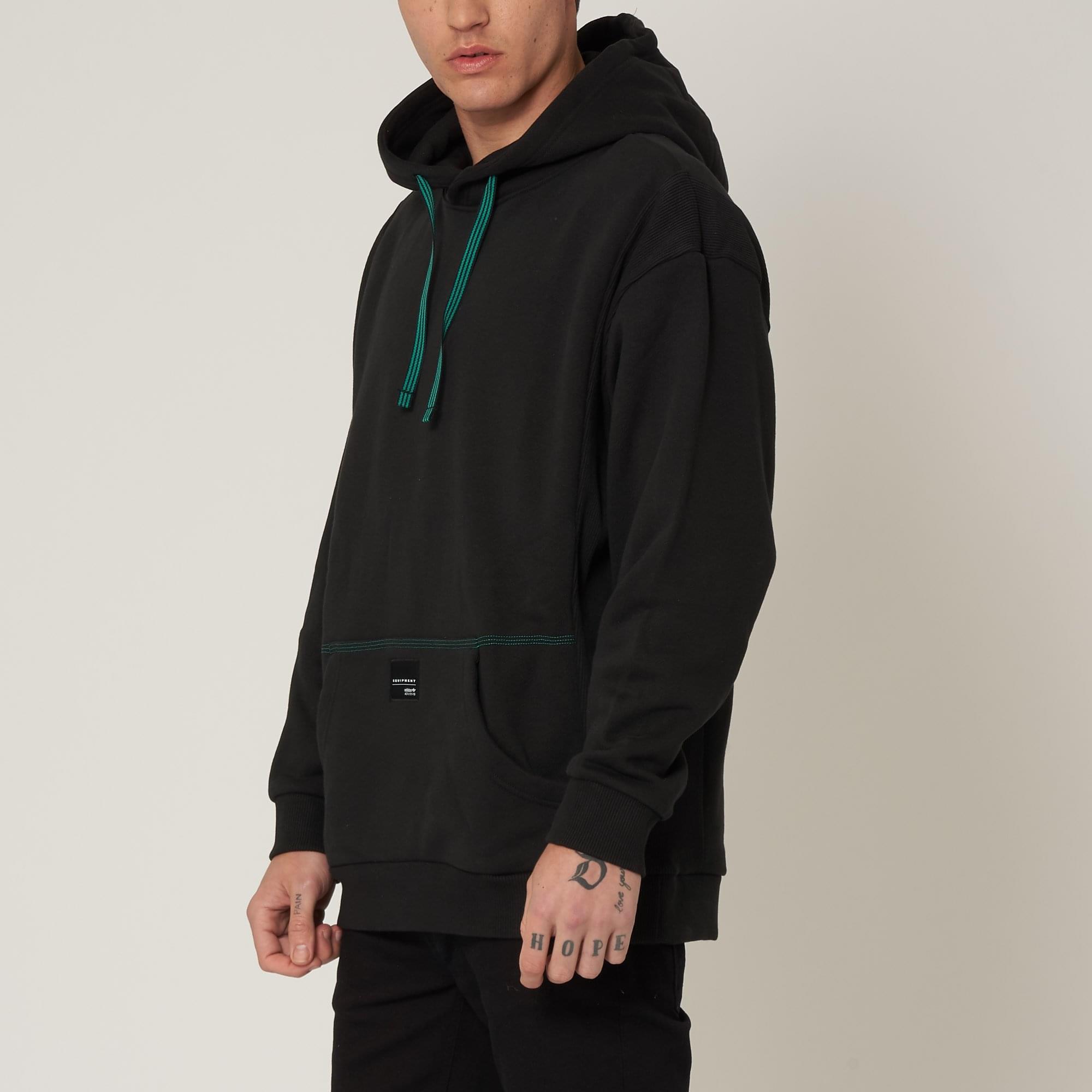 Adidas Black EQT 18 Hoodie CD6856 | US
