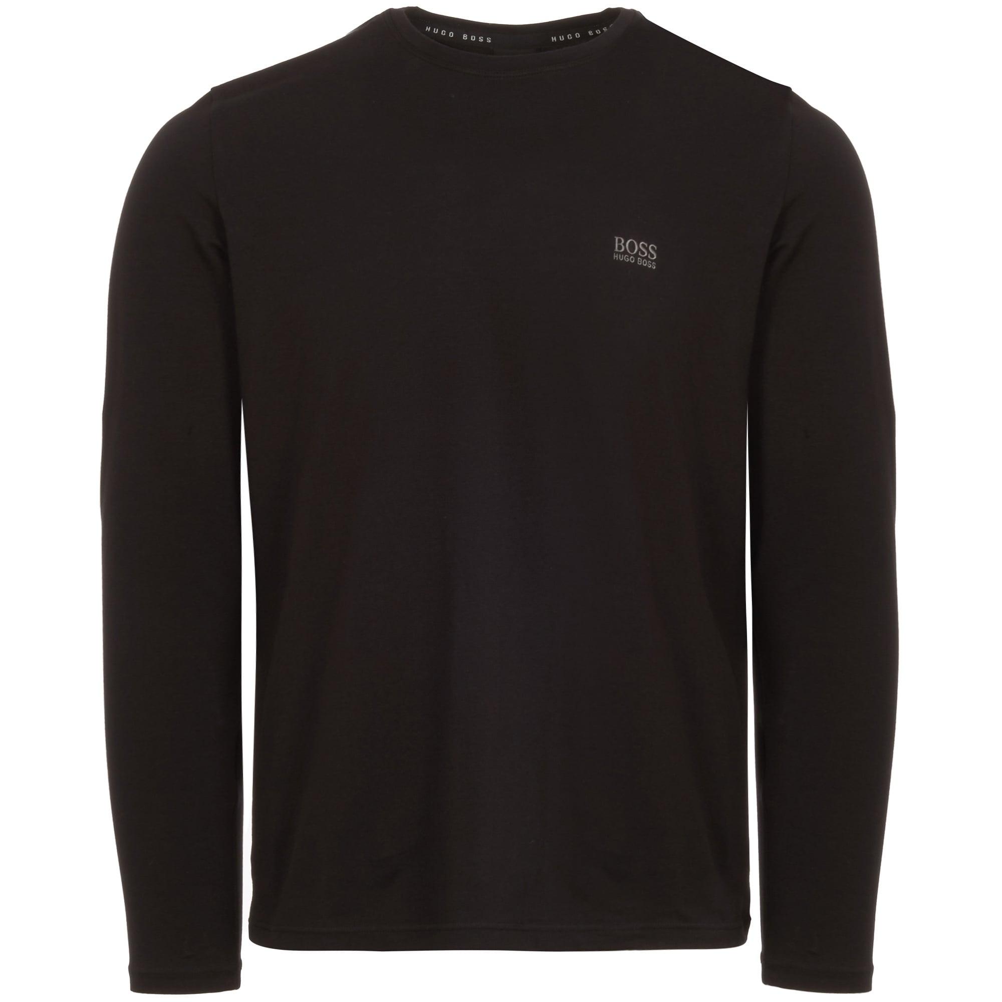 5ebd9278c Hugo Boss Black Long Sleeve T-Shirt | Stuarts London