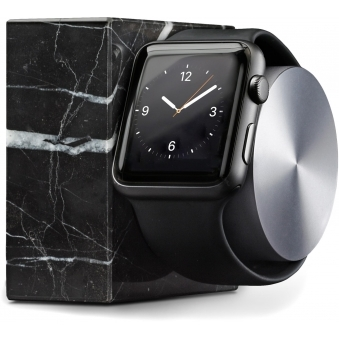 Black Marble Dock For Apple Watch