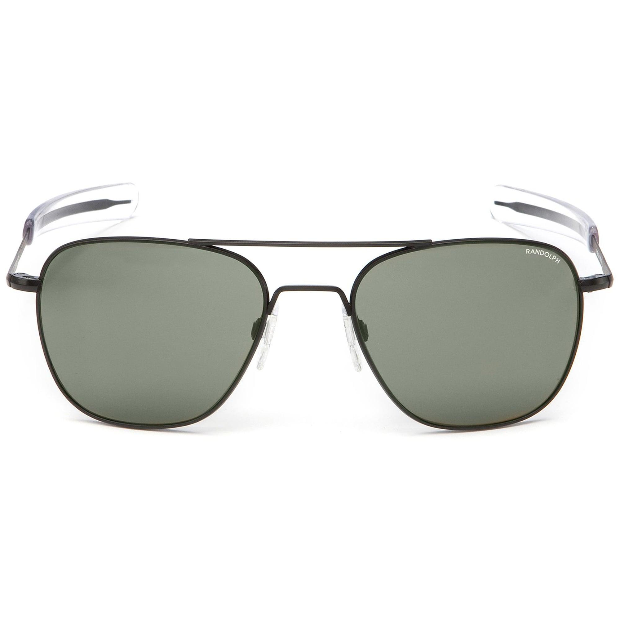 409f0f17a3 Randolph Sunglasses Black Matte Aviators