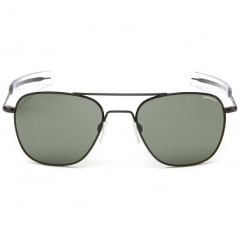 Black Matte Aviator - 58MM