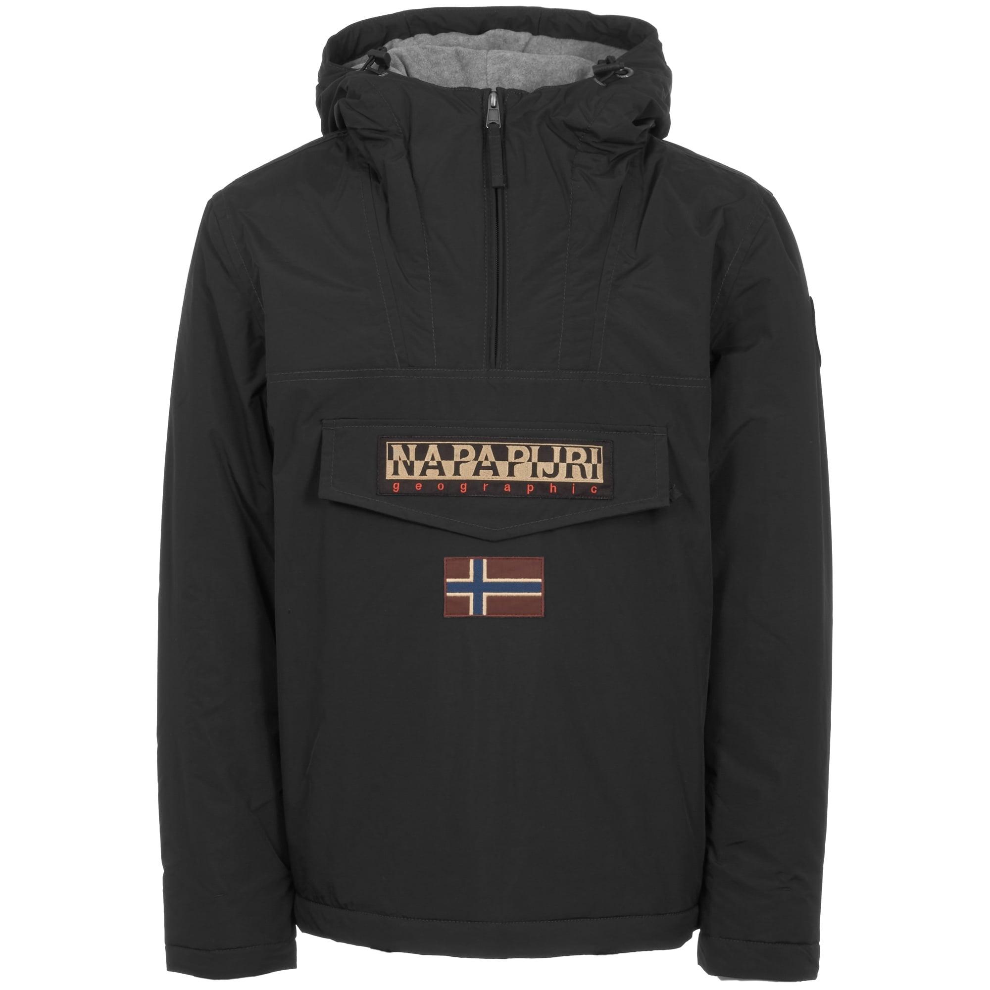 9b5ddb2313fe Napapijri Black Rainforest Winter Jacket | US Stockist