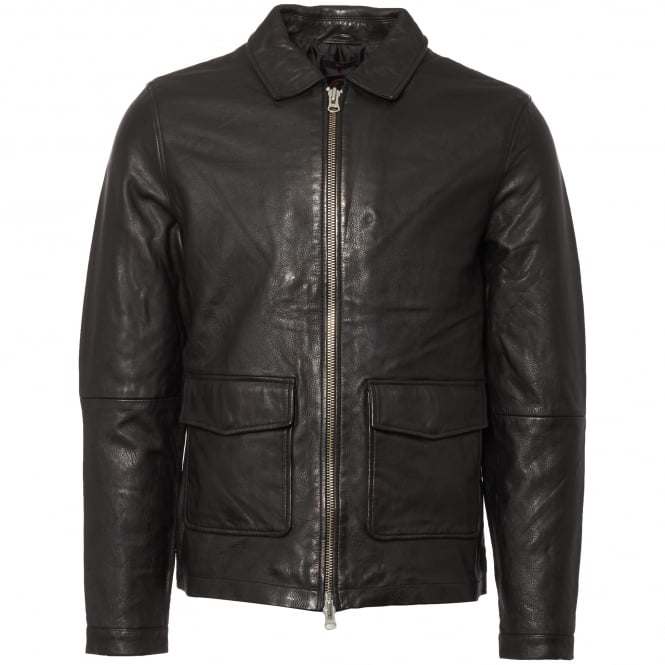 Human Scales Black Rolf Leather Jacket