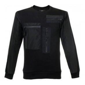 Blood Brother Stem Black Sweatshirt BA15ST