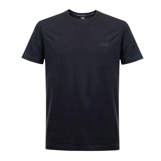33479dc9f Hugo BOSS Blue Style Shirt RN Short Sleeve T-Shirt | Stuarts London